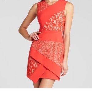 BCBG Asymmetrical Mini Dress